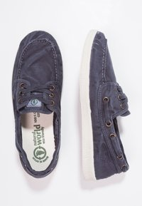 Natural World - NAUTICO ENZIMATICO - Boat shoes - marino - 2