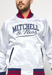 Mitchell & Ness - Training jacket - white - 4