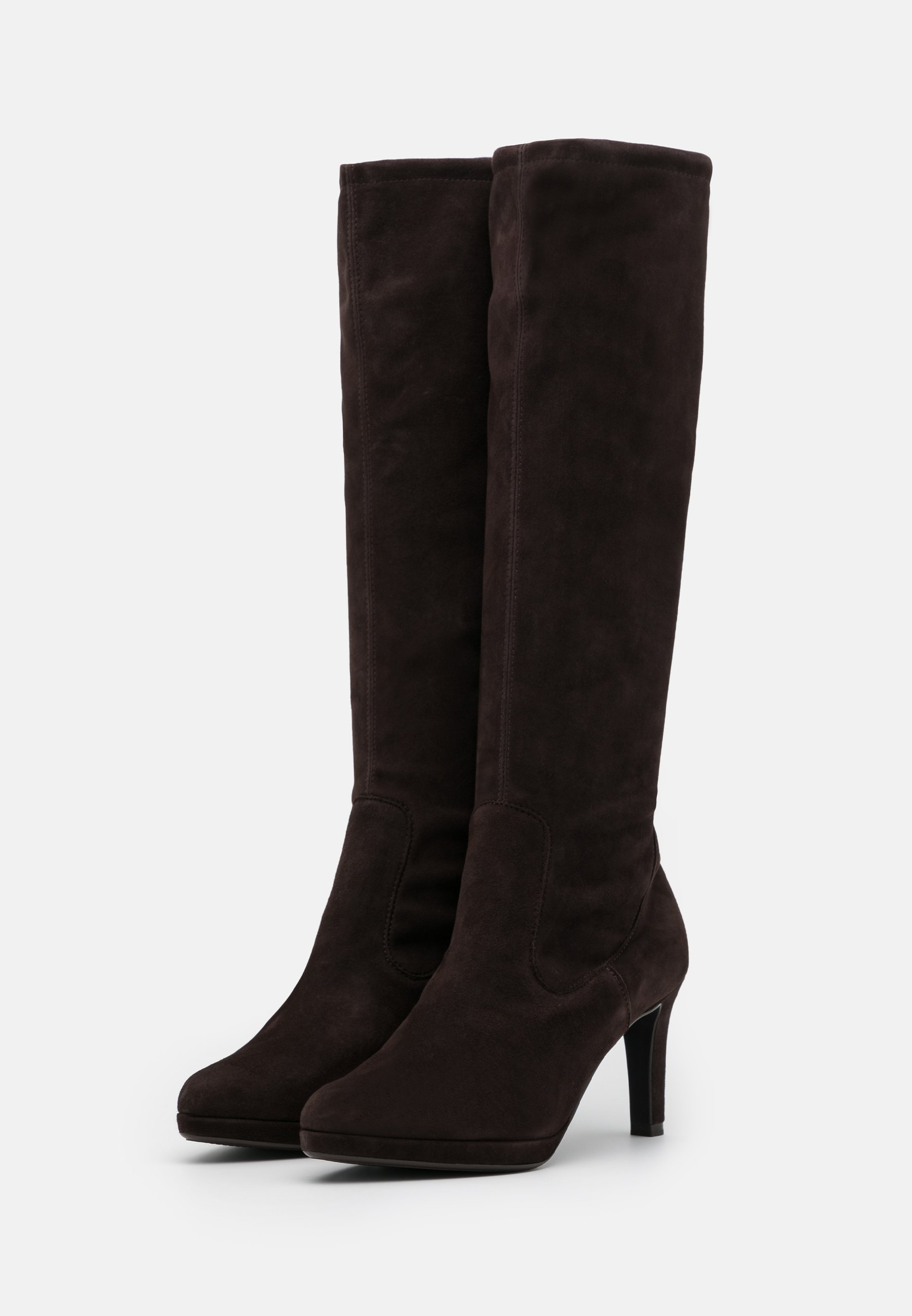 Latest Excellent Women's Shoes Peter Kaiser PAULINE High heeled boots dark brown kM4cbPfNW lAjF9mUG8