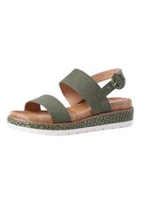 s.Oliver - Sandals - green - 2