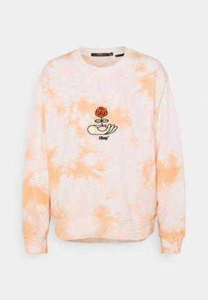 WARDEN CREW - Sweatshirt - peach multi