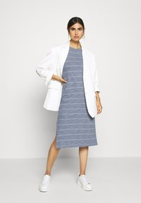 GAP - CREW MIDI DRESS - Jersey dress - grey - 1