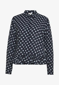 JDY - JDYRANTINI - Button-down blouse - navy blazer - 4