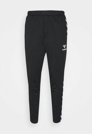 NATHAN TAPERED PANTS - Spodnie treningowe - black