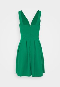WAL G TALL - PLEATED SKATER DRESS - Cocktail dress / Party dress - leaf green - 1