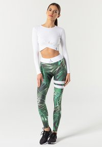 carpatree - TROPICAL TIGHTS - Leggings - green - 1