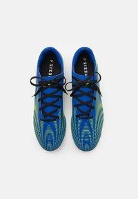 adidas Performance - NEMEZIZ .4 IN - Indoor football boots - royal blue/solar yellow/footwear white - 3