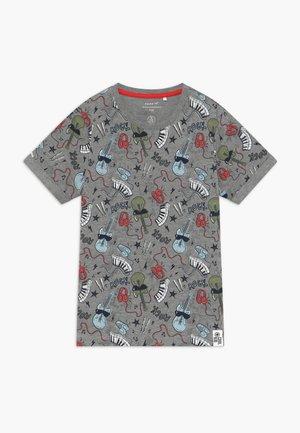 NMMDAROCK  - Print T-shirt - grey