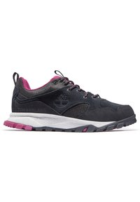 Timberland - GARRISON TRAIL LOW WP - Casual lace-ups - jet black - 4
