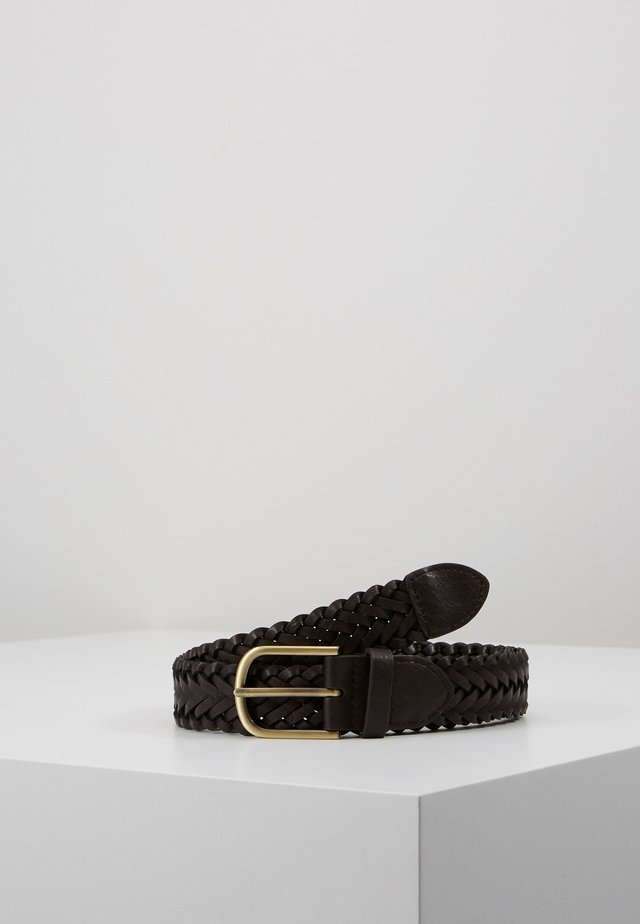 WEAVE BELT - Cintura - brown
