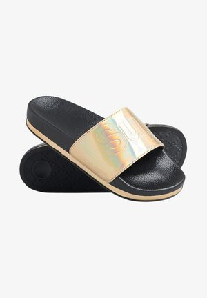 Badslippers - black holographic