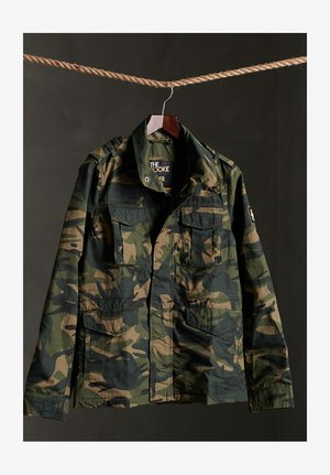 Summer jacket - army camo