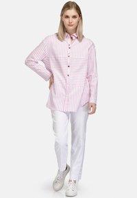 HELMIDGE - Button-down blouse - rosa - 0