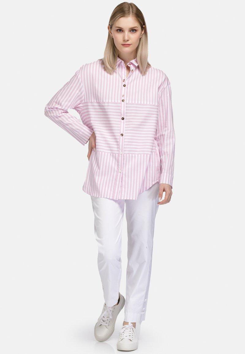 HELMIDGE - Button-down blouse - rosa