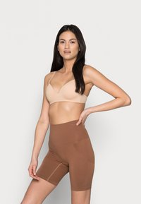 Cotton On Body - SMOOTHER SHAPER HIGH WAIST SHORT - Shapewear - cappucino - 1