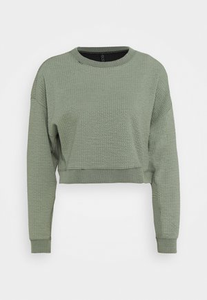 Sweater - basil green