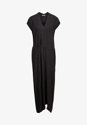 MIT SCHNÜRRUNGEN - Maxi dress - blackish