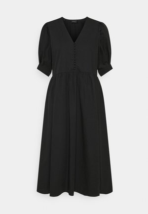 SLFVELLA  MIDI DRESS  - Kjole - black