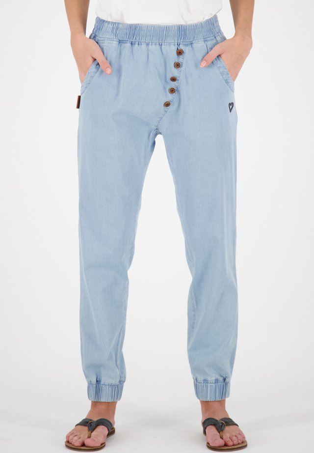Tracksuit bottoms - light denim
