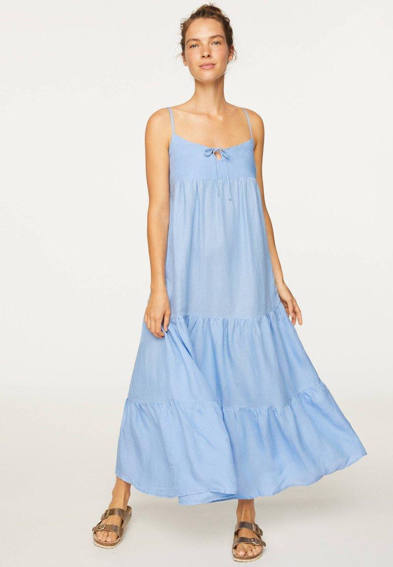 OYSHO - Maxi dress - light blue
