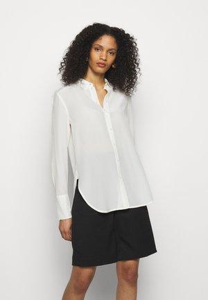 CALANI - Button-down blouse - soft white