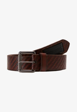 BADGEMAN BELT - Belt - tan