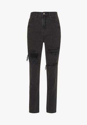 MOM JEAN - Jeans slim fit - black magic