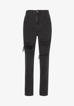 MOM JEAN - Slim fit jeans - black magic