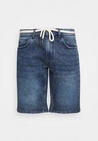 Redefined Rebel - SYDNEY TERRY - Denim shorts - hard blue - 3