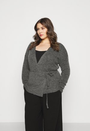 KCWELLY WRAP - Vest - dark grey mélange