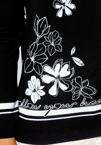 Alba Moda - Jumper - schwarz weiß - 2