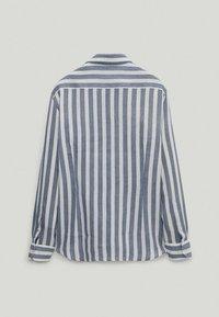 Massimo Dutti - Shirt - blue-black denim - 6