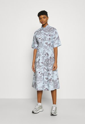 ALOE DRESS - Shirt dress - light blue