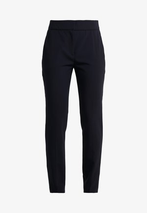 THE CROPPED TROUSER - Stoffhose - navy