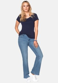 Sheego - Flared Jeans - light blue - 1