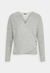 Etam - LAURYL LOUNGEWEAR - Pyjama top - gris - 0