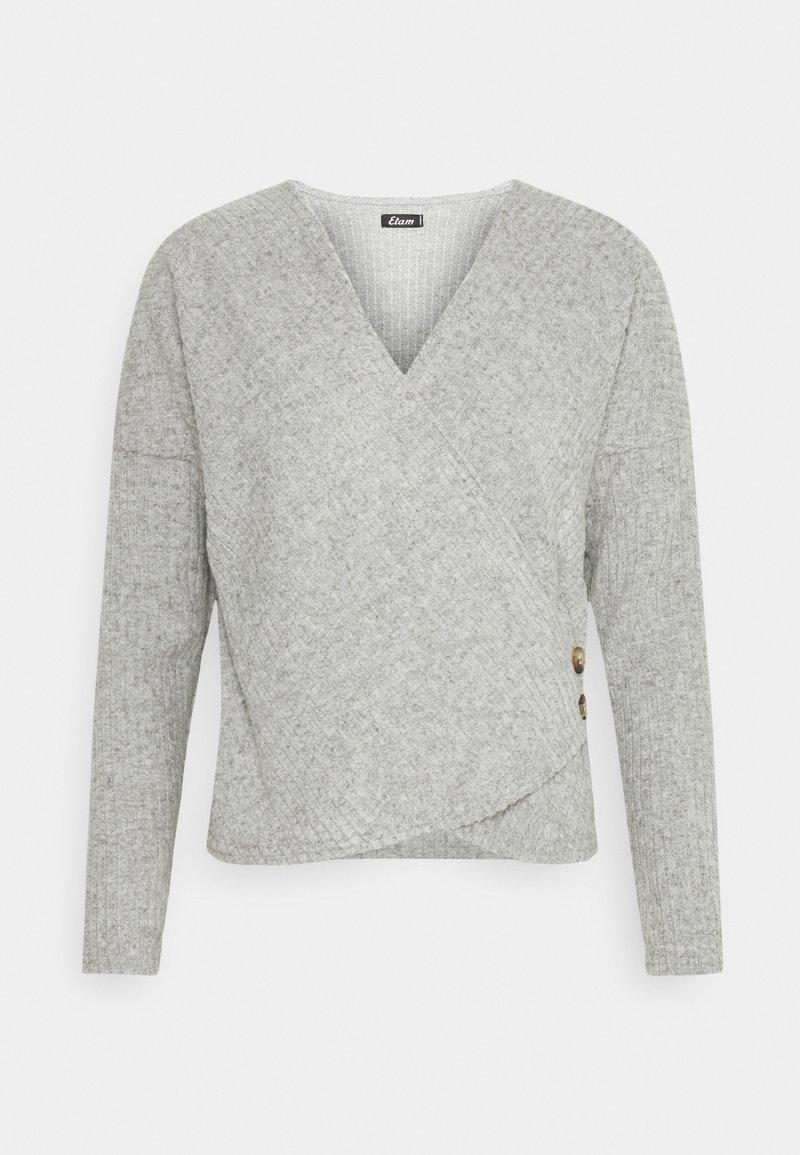 Etam - LAURYL LOUNGEWEAR - Pyjama top - gris