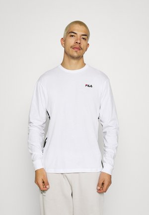 TEDOS TAPE LONG SLEEVE - Camiseta de manga larga - bright white
