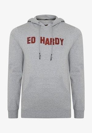 Hoodie - grey marl