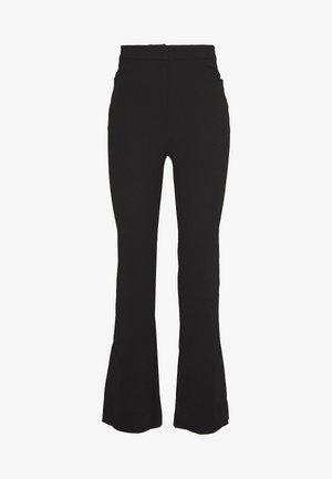 HALLIE TROUSER - Pantalon classique - black