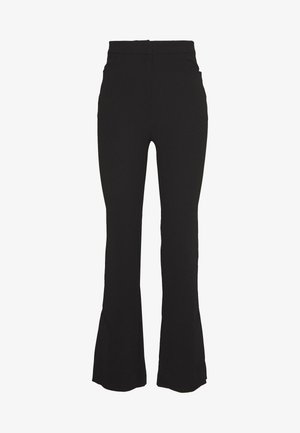 HALLIE TROUSER - Kalhoty - black