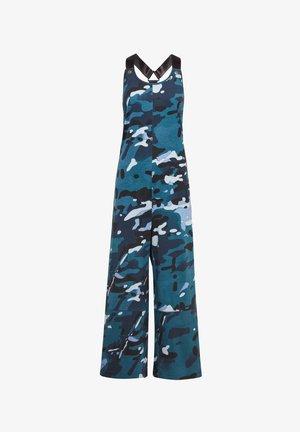 DUNGAREE CAMO ALLOVER - Jumpsuit - faze blue multi camo