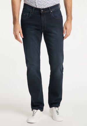 RANDO - Straight leg jeans - blue/black used