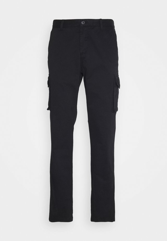DUST CARGO  - Cargo trousers - black