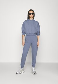 NU-IN - CROPPED HOODIE - Sweatshirt - blue - 1