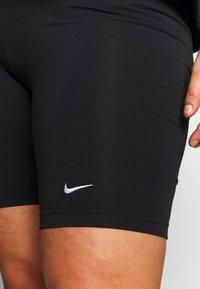 Nike Sportswear - LEGASEE BIKE PLUS - Shorts - black/white - 4