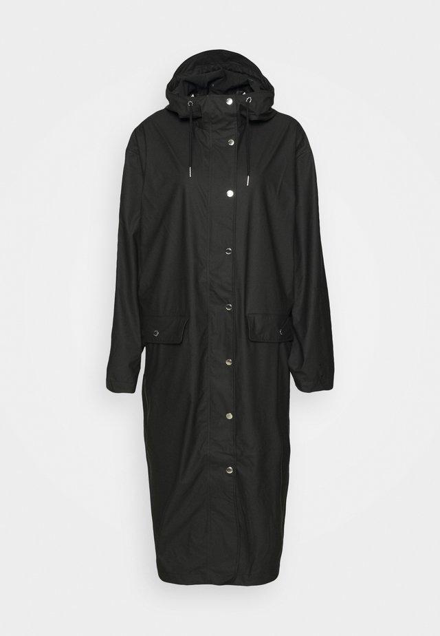 STALA LONG JACKET - Waterproof jacket - black