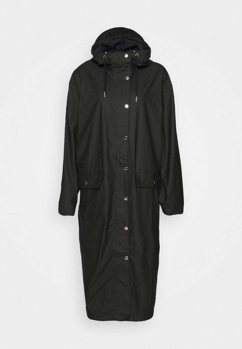 Samsøe Samsøe - STALA LONG JACKET - Vodotěsná bunda - black