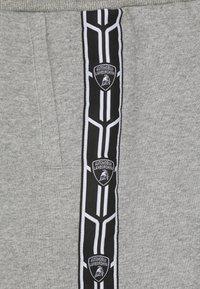 Automobili Lamborghini Kidswear - SHIELD TAPE PANTS - Tracksuit bottoms - grey antares - 2