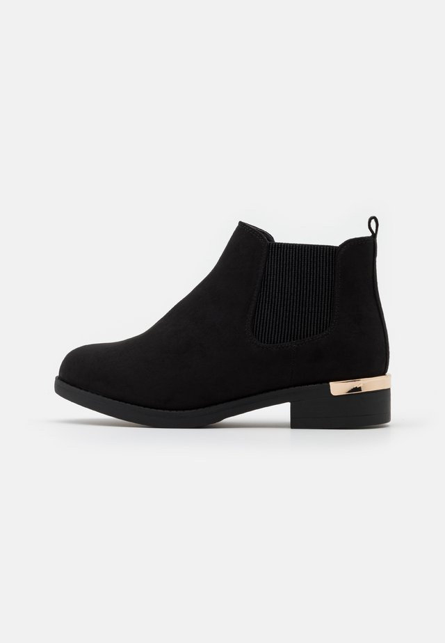 WIDE FIT BECCA CHELSEA - Ankelboots - black